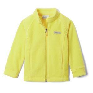 Yellow Columbia Benton Soft Baby Fleece Jacket NWT